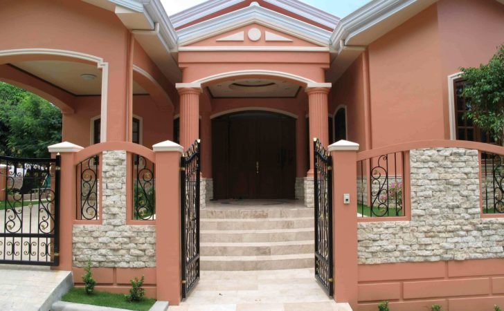 House Fence Designs Philippines Styles Modern