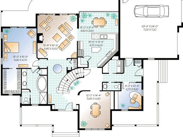 House Floor Plans Home Office Design Style