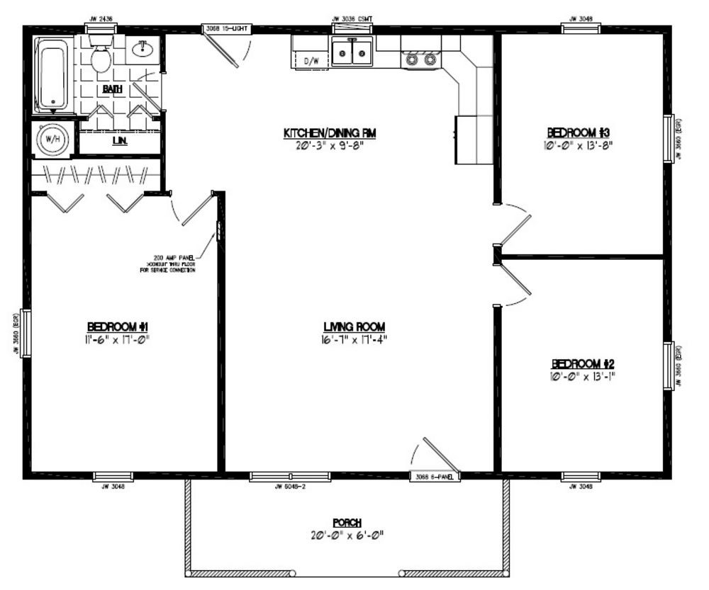 House Floor Plans Wood Floors
