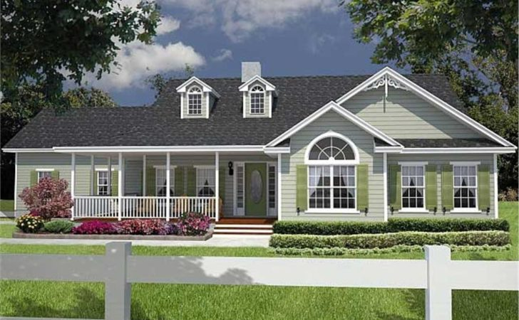 House Large Country Home Plans Entertaining