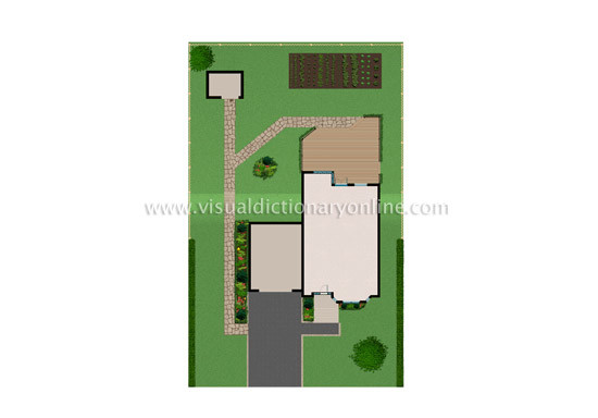 House Location Exterior Plan