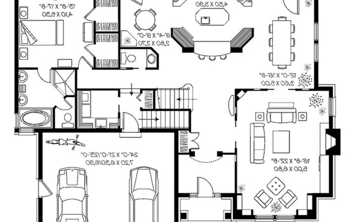 House Plan Architecture Modern