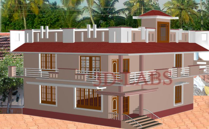 House Plan Elevation Civil Architectural Drawing Works