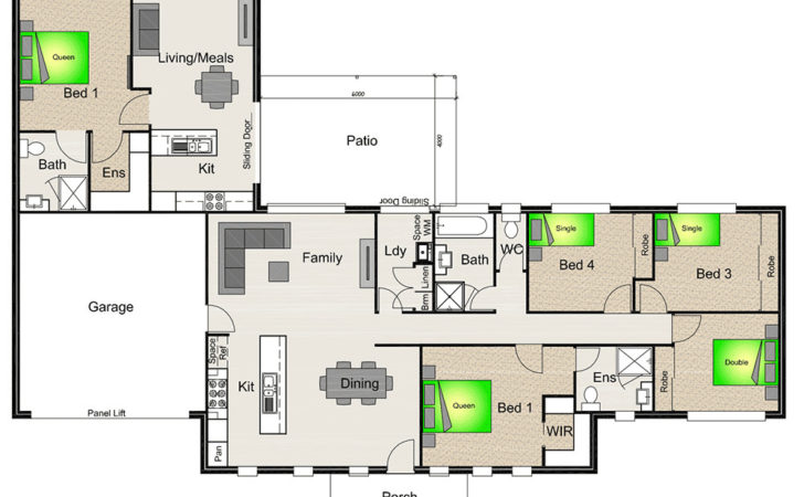 House Plan Granny Flat Attached Google Search