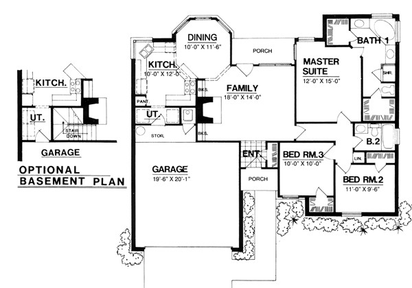 House Plan Hammond