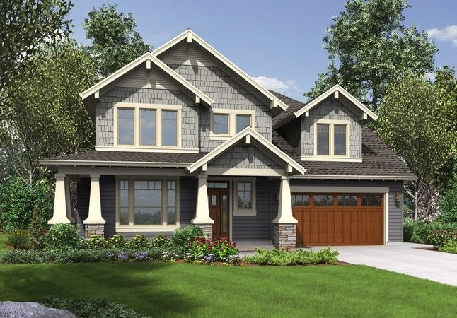 House Plan Hood River Craftsman Home