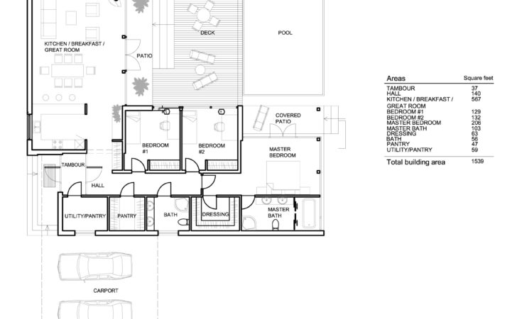 House Plan Modern Signature Arch