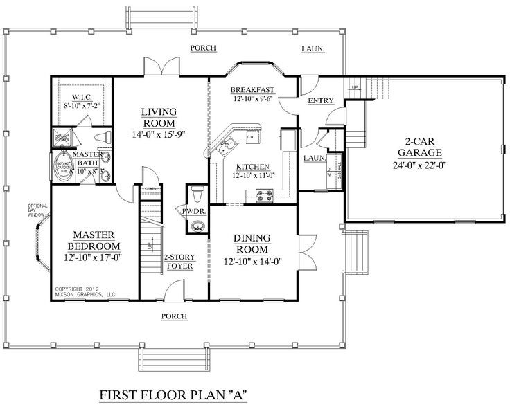 House Plan Montgomery First Floor