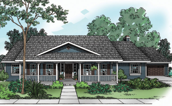 House Plan Redmond Country Plans