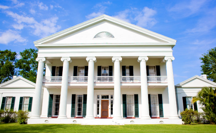 House Plan Southern Plantation Mansions