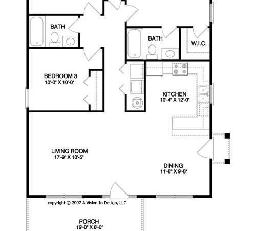 House Plan Sparrow
