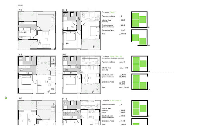 House Plans Attached Apartment Home Design Style