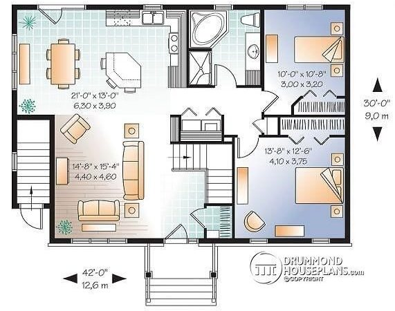 House Plans Bedrooms Basement New Bedroom