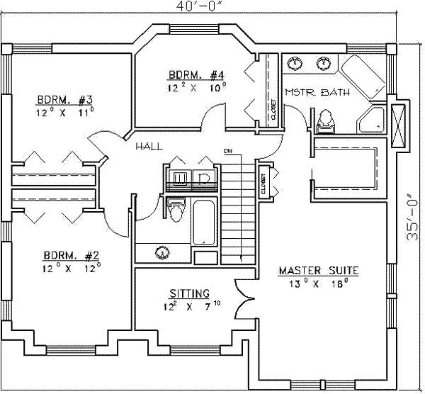 House Plans Bedrooms Marceladick
