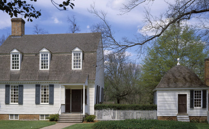House Plans Colonial Williamsburg Plan