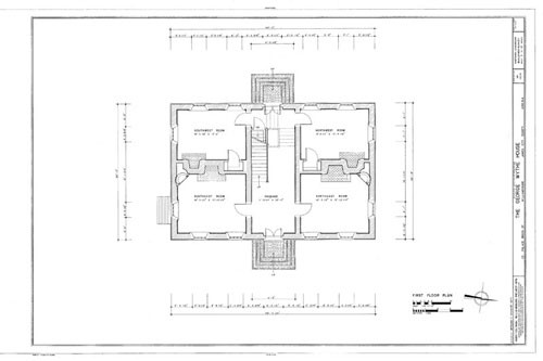 House Plans Colonial Williamsburg