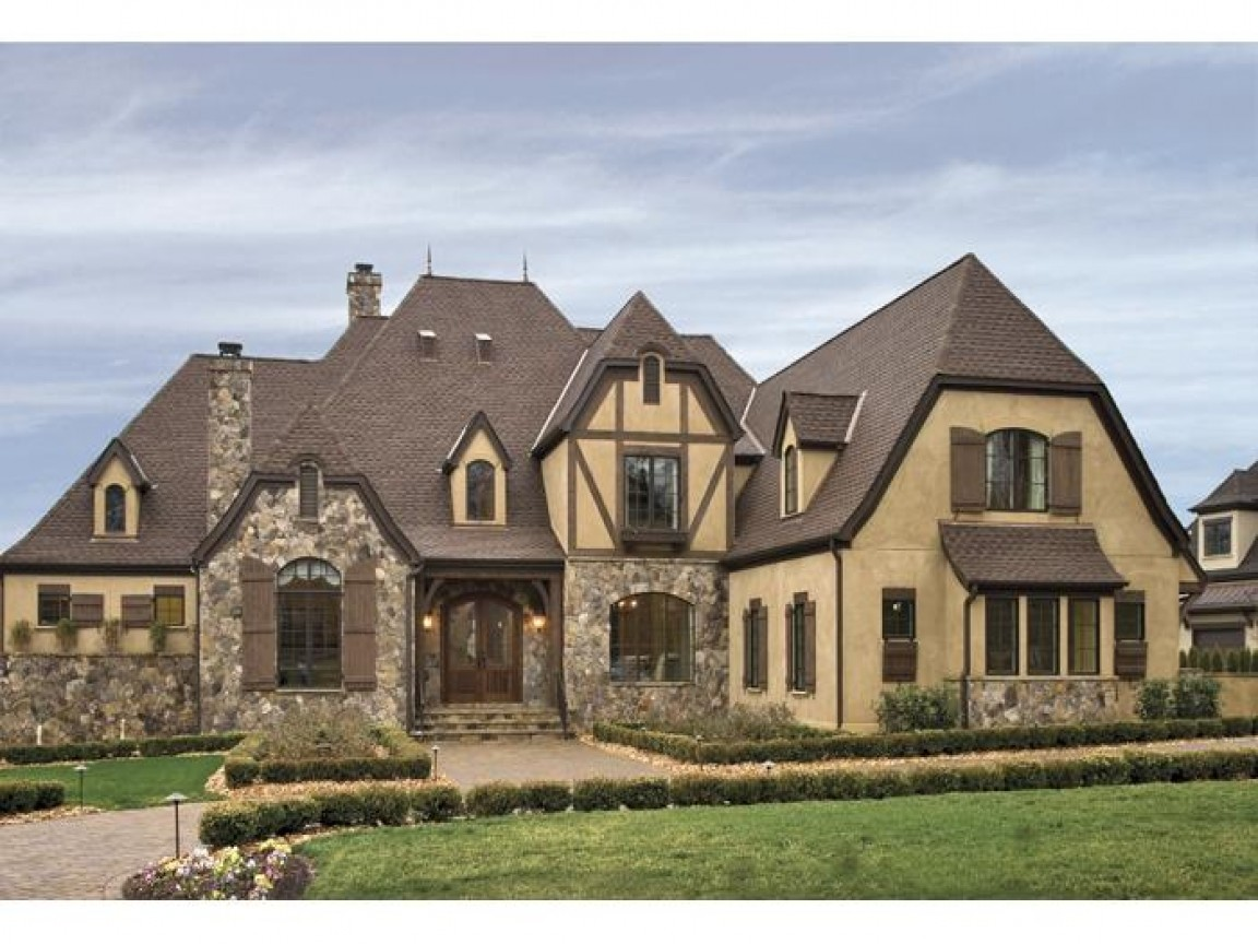 House Plans Country Style Georgian Tudor