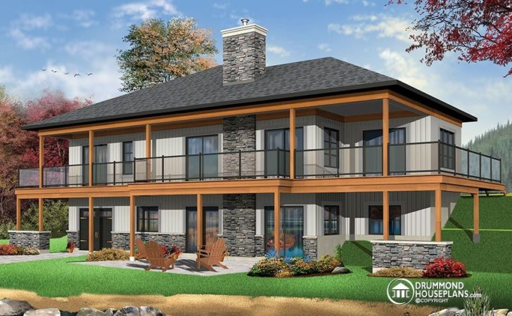 House Plans Design Rustic Contemporary