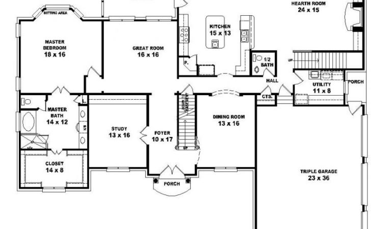House Plans Design Two Story Bedroom