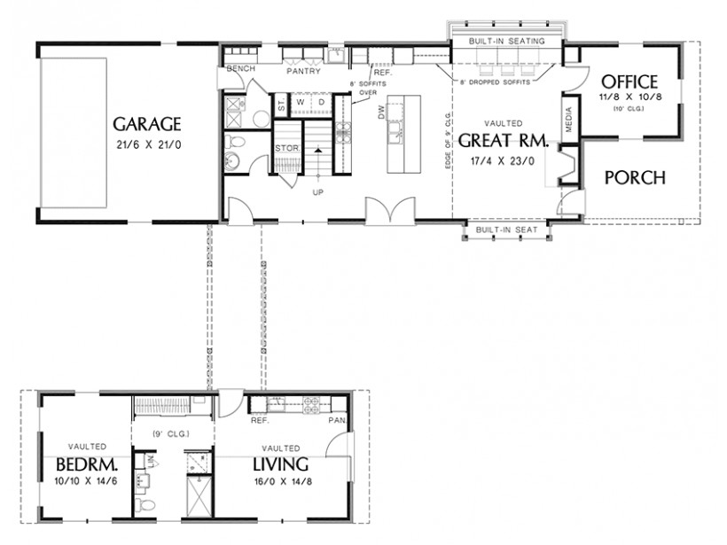 House Plans Detached Guest Cottage