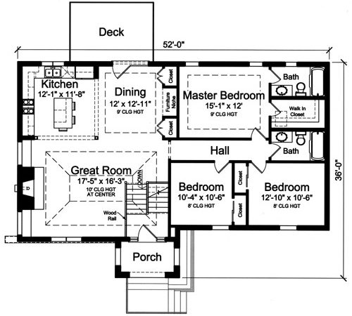 House Plans Drawn Level Split Foyer Studer