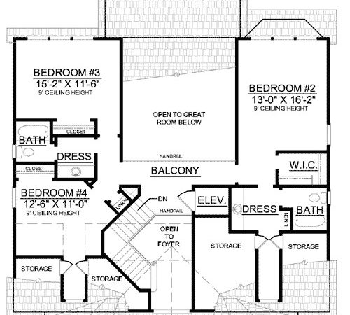 House Plans Elevators Smalltowndjs