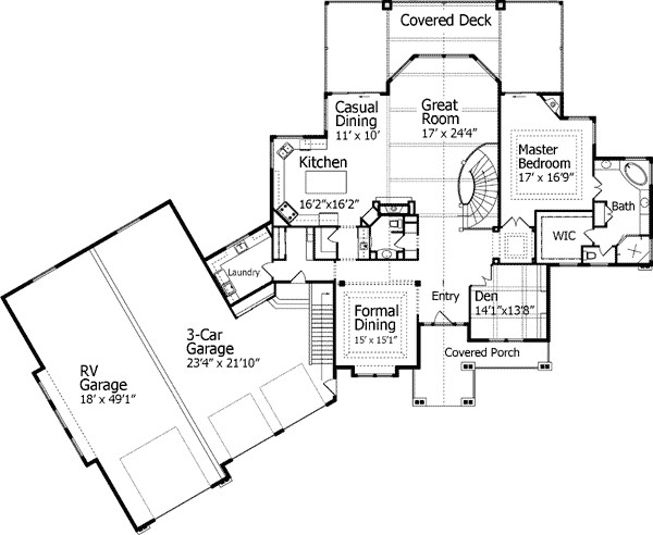 House Plans Garage Smalltowndjs
