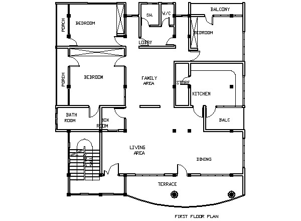 House Plans Ghana Bedroom