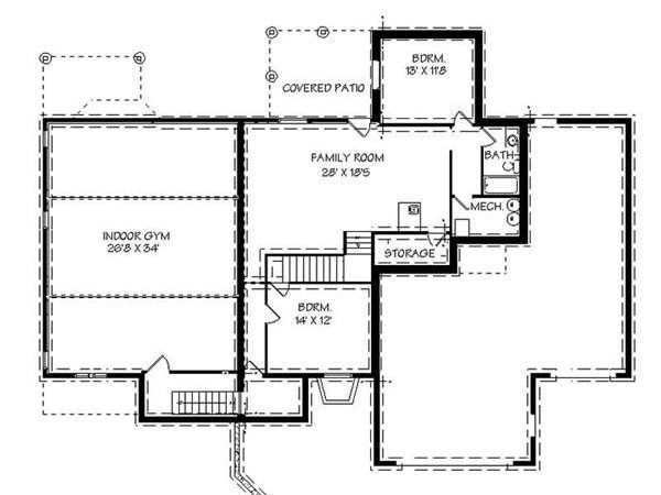 House Plans Gyms Inside Smart Healthy Home