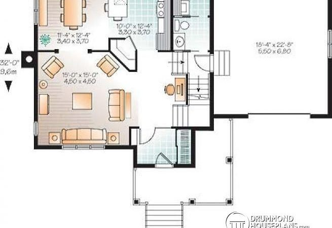 House Plans Large Rooms