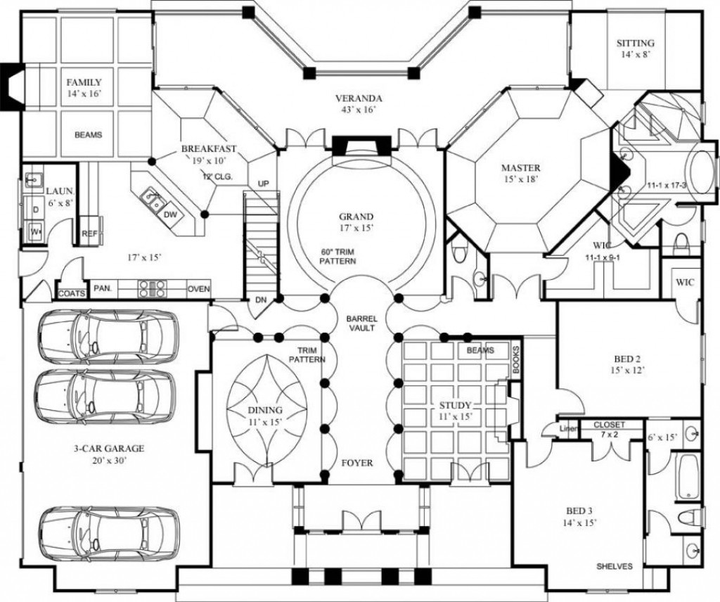 House Plans Luxury Small Brilliant Home