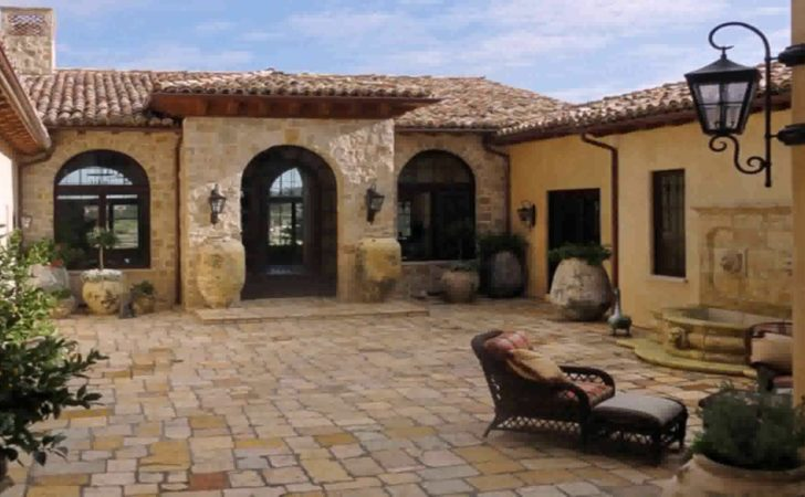 House Plans Mediterranean Courtyard Youtube