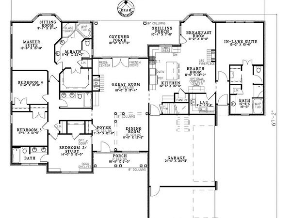 House Plans Mother Law Suite Home