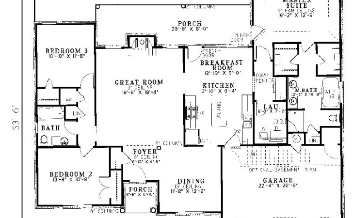 House Plans Ranch Smalltowndjs