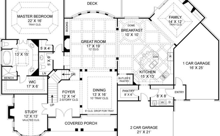 House Plans Rear Home