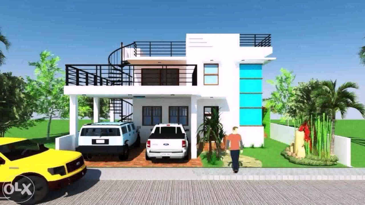 House Plans Roof Deck Terrace Youtube