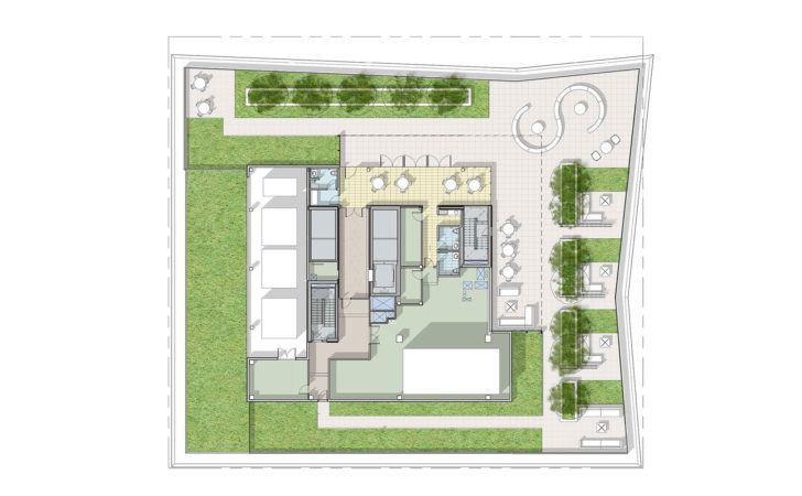 House Plans Rooftop Terrace