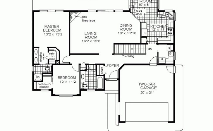 House Plans Sample Small Home Floor