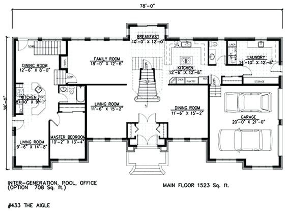 House Plans Separate Mother Law Apartment Latest