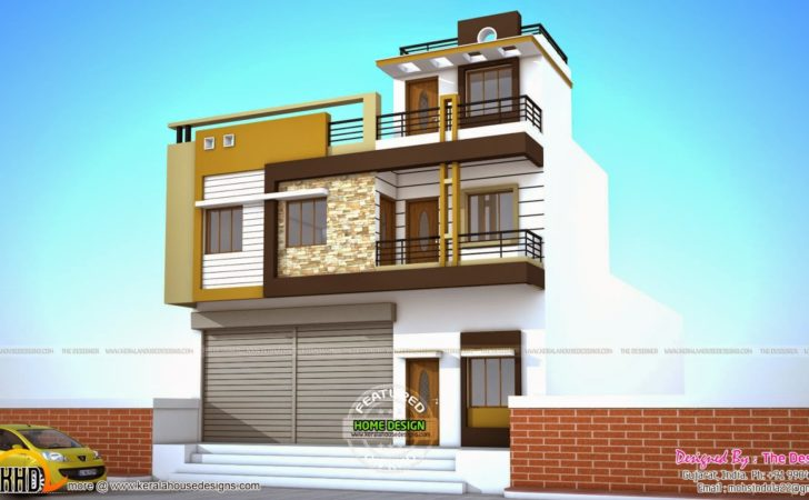 House Plans Shops Ground Floor Kerala Home