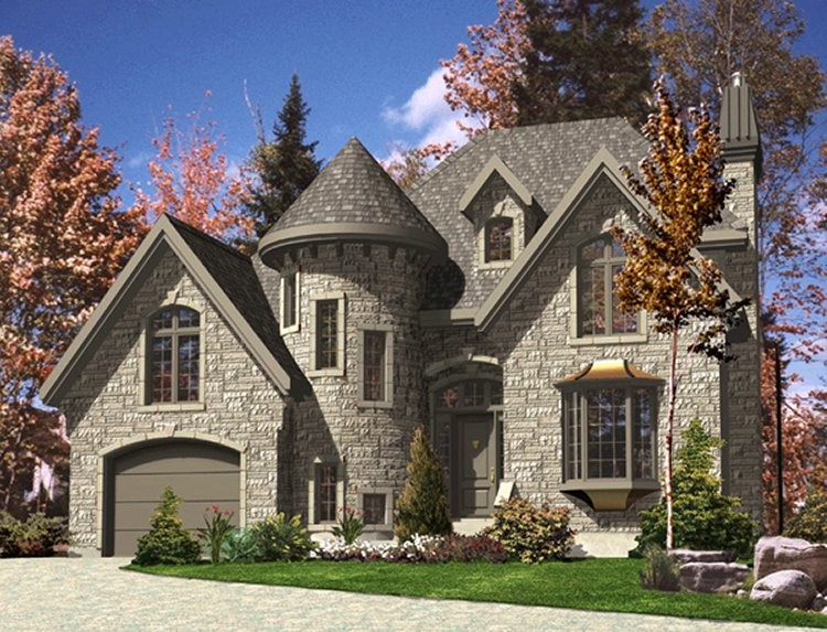 House Plans Turrets Westhome Planners