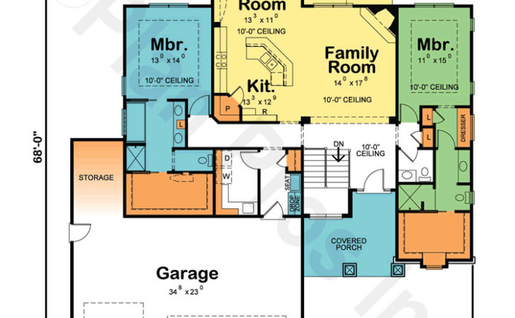 House Plans Two Owner Suites Design Basics