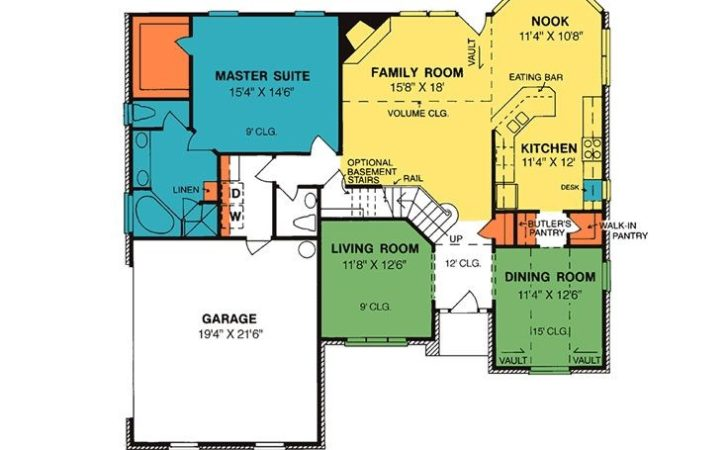 House Plans Two Story Plan