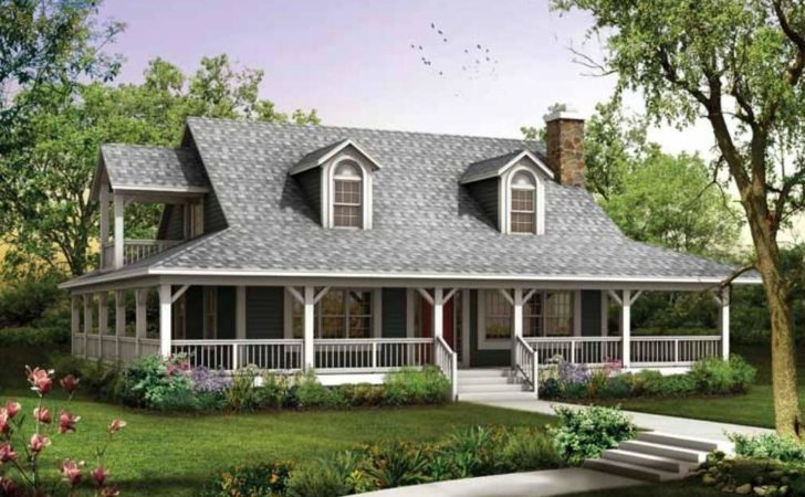 House Plans Wrap Around Porches Style