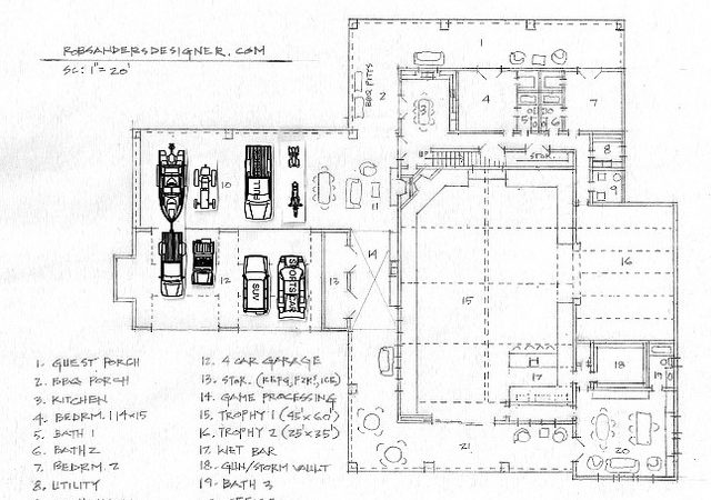 Hunting Lodge Floor Plan Flickr Sharing