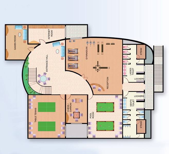 Ideal Heights Plan Bedroom Apartments