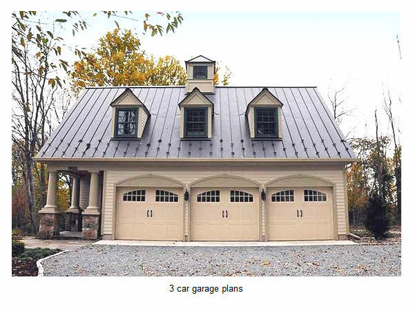 Ideas Car Garage Plans Loft Home House