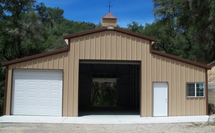 Ideas Cheap Metal Garage Iimajackrussell Garages