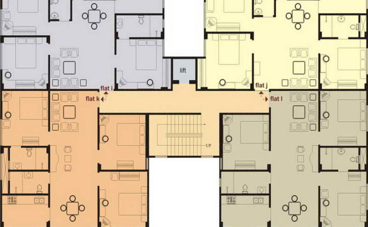 Ideas Residential Floor Plans Designs Typical Style