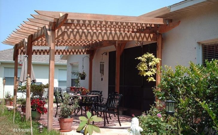 Incredible Plans Build Pergola Attached House